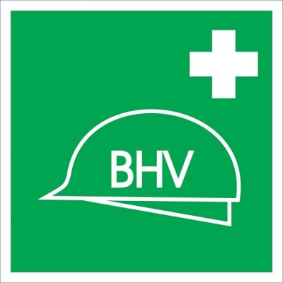 BHV post pictogram 200x200 mm