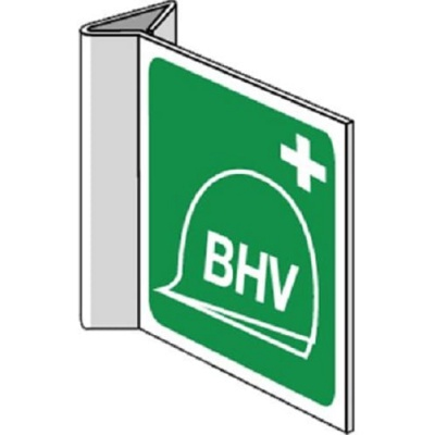 BHV post pictogram haaks 200x200 mm